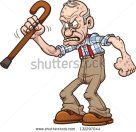 stock-vector-grumpy-old-man-vector-clip-art-illustration-with-simple-gradients-all-in-a-single-layer-132297044